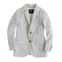 Boys' Ludlow sportcoat in seersucker