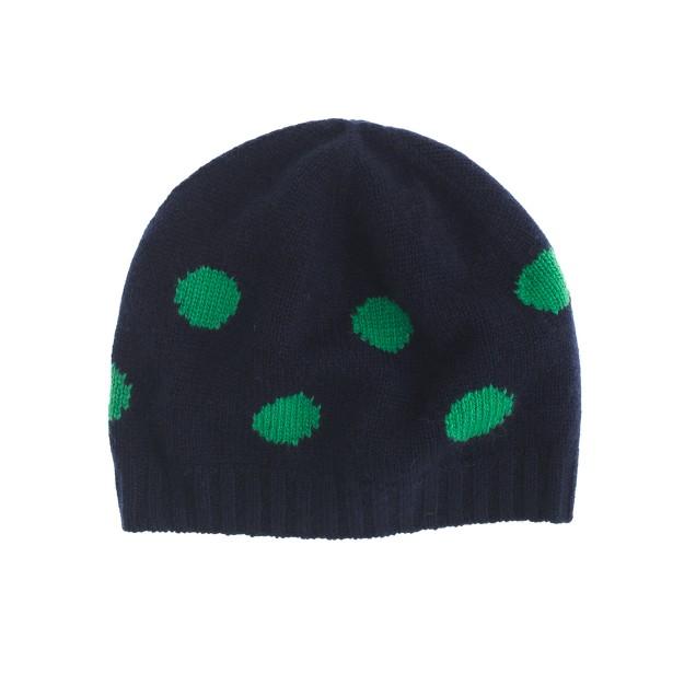 Polka-dot hat