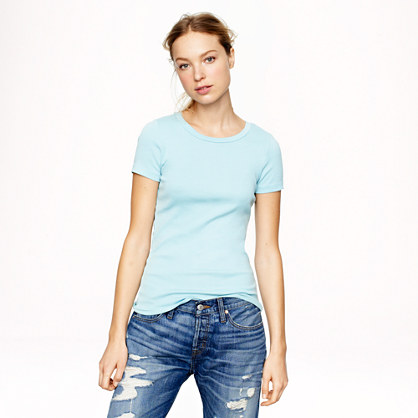 perfect fit t shirt short sleeve tees j crew