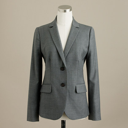 1035 two-button jacket in Super 120s wool