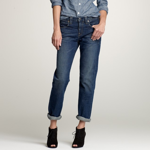 Vintage slim jean in rustic wash