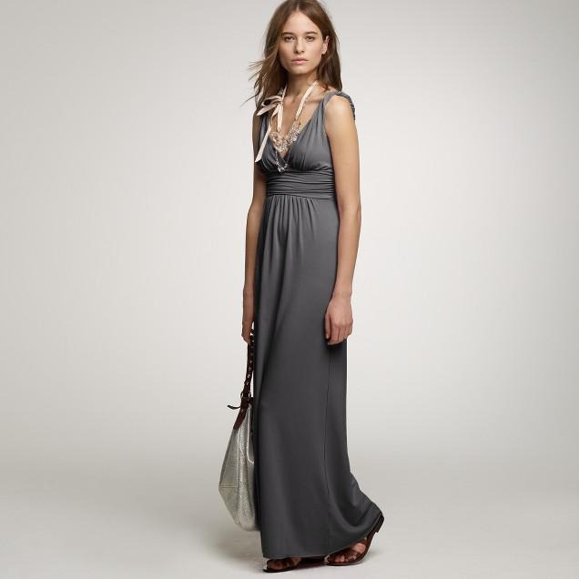Jersey promenade gown