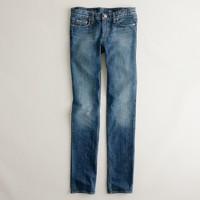 Vintage matchstick jean in broken dark indigo wash