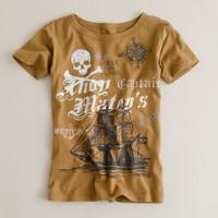Boys' ahoy matey's tee
