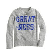Boys' greatness sweatshirt