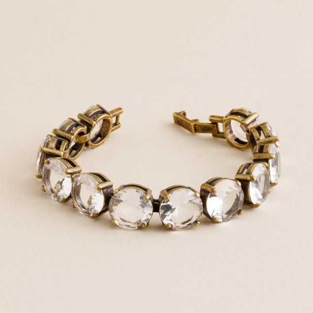 Crystal glamour bracelet
