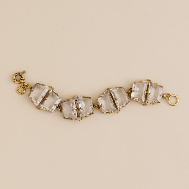 Faceted glaçon bracelet