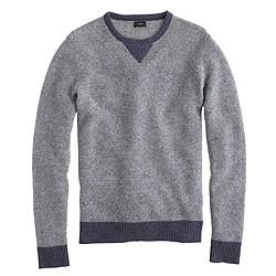 Lambswool sweatshirt sweater