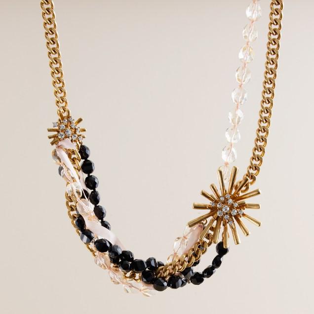 Crystal devoté necklace