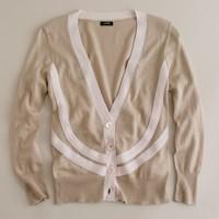 Cotton-wool lino cardigan