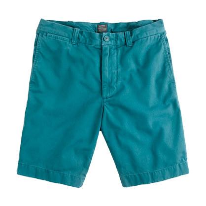 """9"""" Stanton short in garment-dyed cotton"""