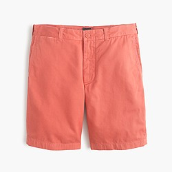 "9"" Stanton short in garment-dyed cotton"
