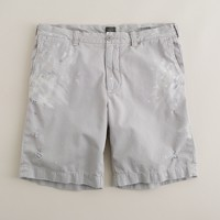 Painted sun-faded Stanton short