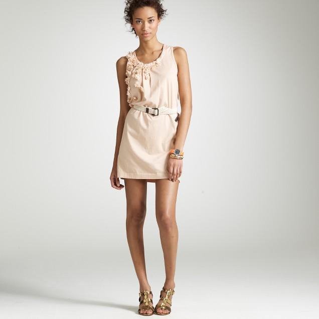 Lilac shower shift dress