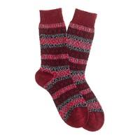 Scott-Nichol™ Rutland Fair Isle socks
