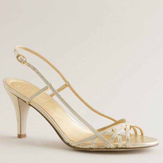 Jillian strappy high-heel sandals