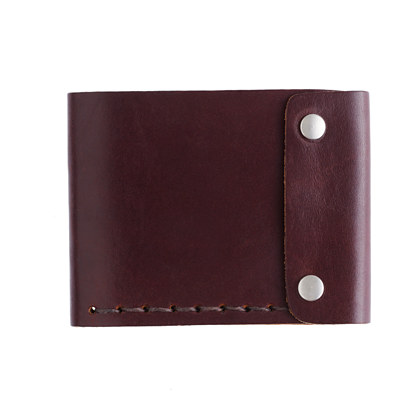Billykirk® bifold snap wallet