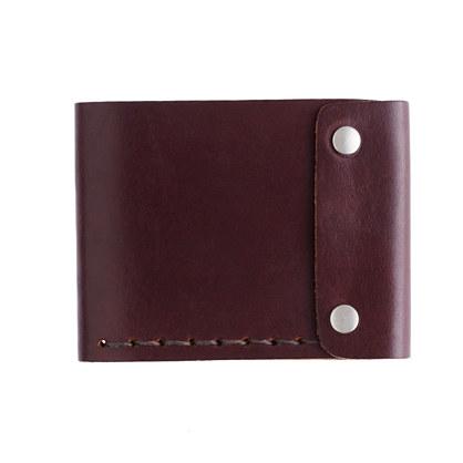 Billykirk® bifold snap wallet