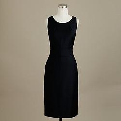 Tall Emmaleigh dress in Super 120s wool