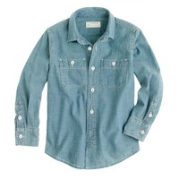 Boys' vintage chambray shirt