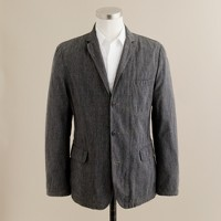 Selvedge cotton twill sportcoat in Ludlow fit