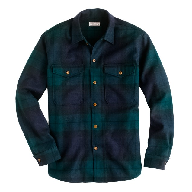 Wallace & Barnes Black Watch workshirt