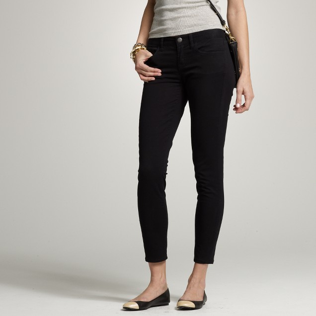 Ankle stretch toothpick jean in premium twill