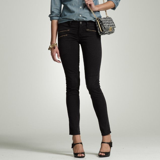 Toothpick zipper jean