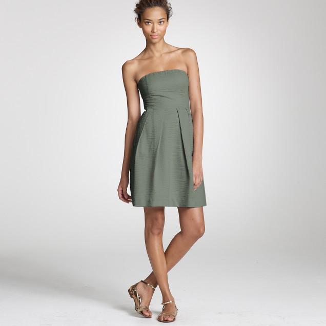 Solid embossed Lorelei dress
