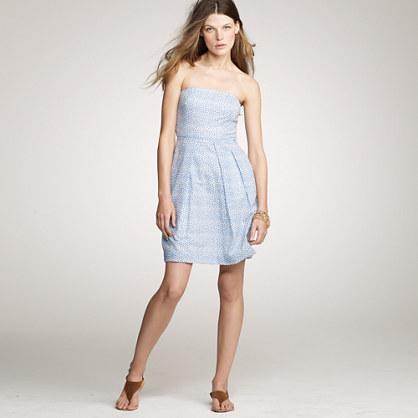 Printed embossed Lorelei dress