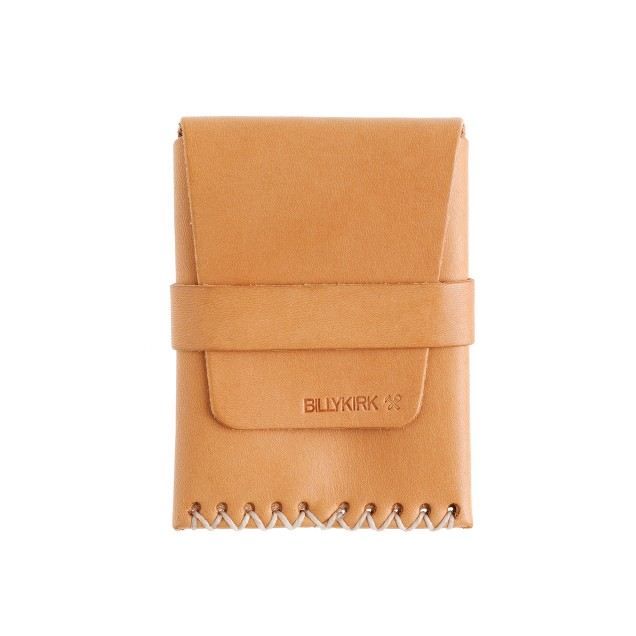 Billykirk® large card case with flap closure
