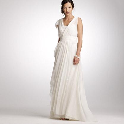 Silk chiffon Thea gown