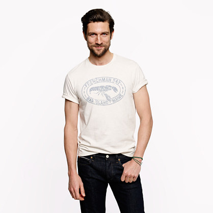 Frenchman Bay graphic tee