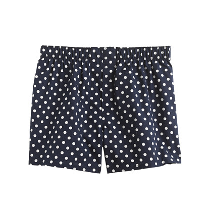 Large dot boxers