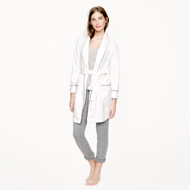 Terry-lined robe