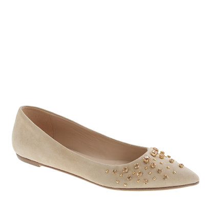 Collection Viv jeweled flats