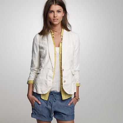 Cavalry linen twill blazer : blazers & vests | J.Crew