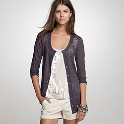 Beachcomber linen long cardigan