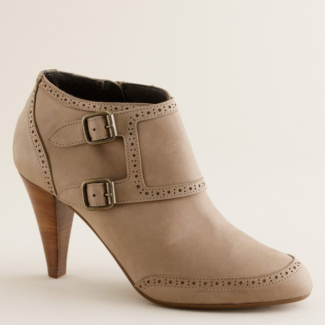 Brodie leather ankle boots