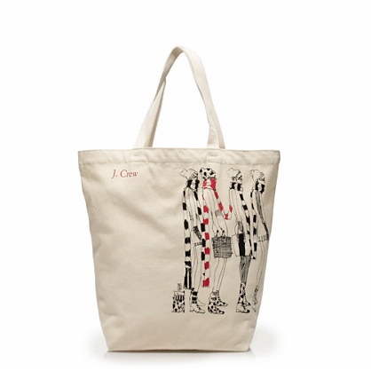 Reusable canvas tote : bags | J.Crew