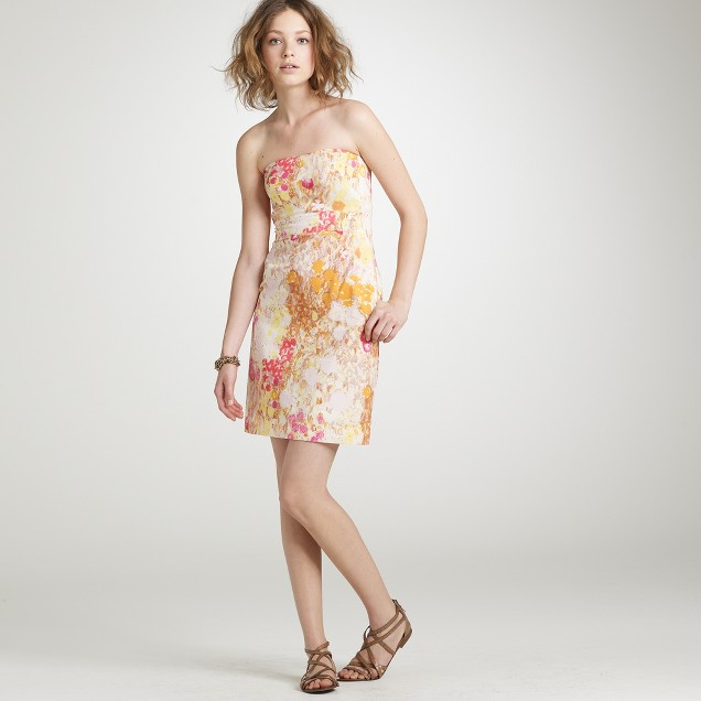 Sunshine peony coccinelle dress