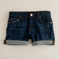 Denim short in desire wash