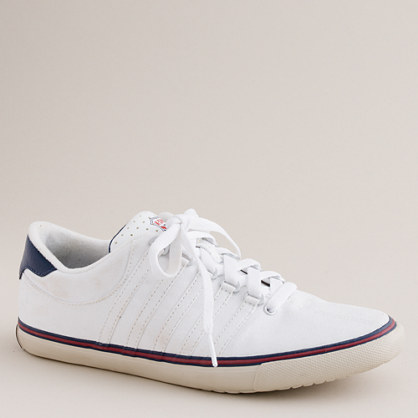 K-Swiss® surf and court canvas sneakers