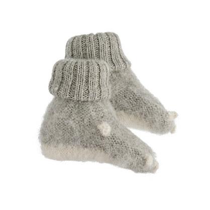 Oeuf® baby animal booties