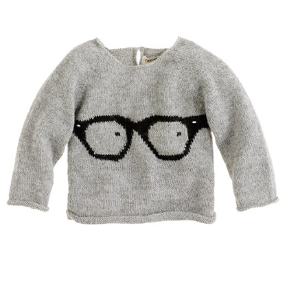 Oeuf® baby glasses sweater