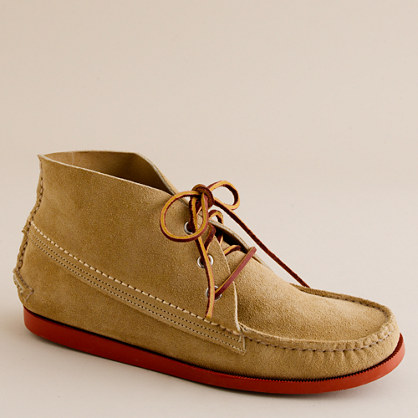 Quoddy® suede chukka boots