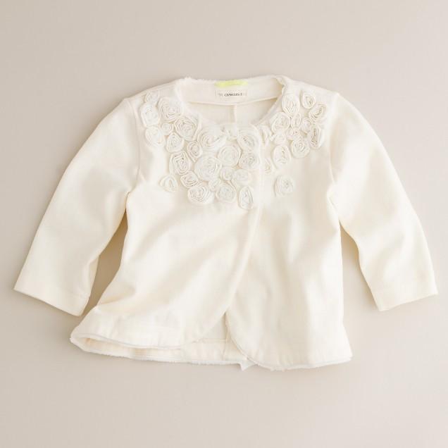 Girls' cotton playtime jacket