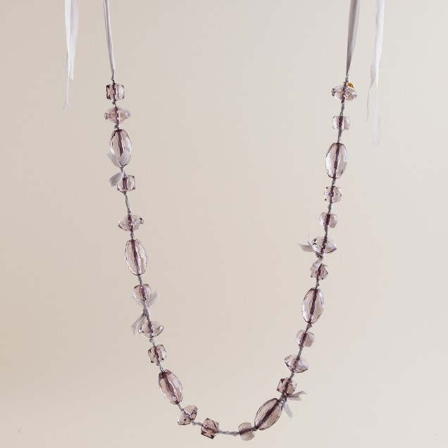 Festival faceted necklace