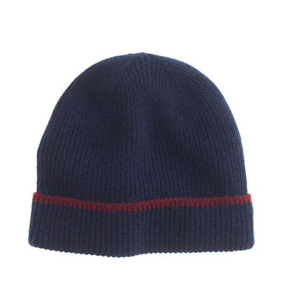 Kids' tipped cashmere hat