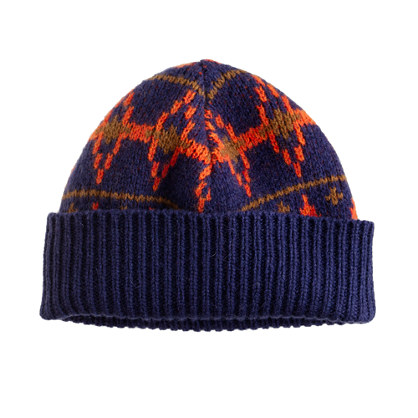 Boys' Fair Isle hat